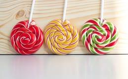 Doces do caramelo da cor Fotografia de Stock Royalty Free