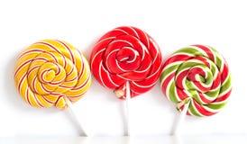Doces do caramelo da cor Imagens de Stock