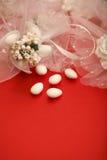 Doces do casamento Fotos de Stock Royalty Free