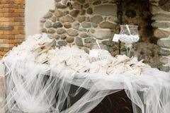 Doces do casamento Imagens de Stock Royalty Free