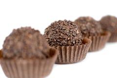 Doces do chocolate Foto de Stock Royalty Free