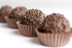 Doces do chocolate Imagem de Stock