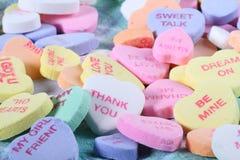 Doces do coração do dia do Valentim Foto de Stock Royalty Free