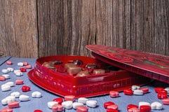 Doces do coração do Valentim Imagem de Stock Royalty Free