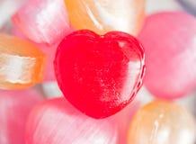 Doces do coração Fotografia de Stock Royalty Free
