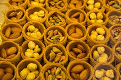 Doces do loukoum do estilo tradicional Imagens de Stock