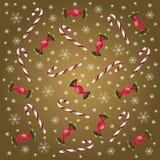 Doces do Natal ilustração do vetor