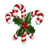 Doces do Natal Fotografia de Stock