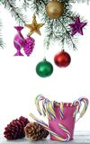 Doces do Natal Imagens de Stock Royalty Free