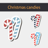 Doces do Natal Fotos de Stock Royalty Free