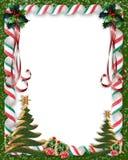 Doces do Natal e beira da árvore Foto de Stock