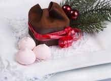 Doces do Natal para a tabela do feriado Fotos de Stock