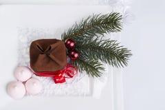 Doces do Natal para a tabela do feriado Imagens de Stock