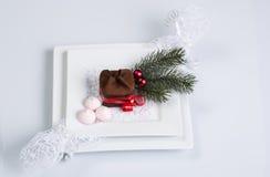 Doces do Natal para a tabela do feriado Imagem de Stock Royalty Free