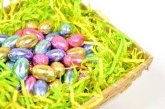 Doces do ovo da páscoa Fotografia de Stock