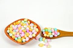 Doces do ovo da páscoa Foto de Stock Royalty Free