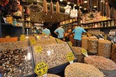 Doces do prazer no bazar egípcio Fotos de Stock