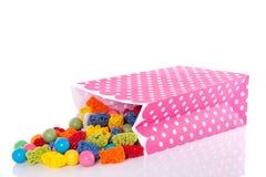 Doces doces coloridos Fotos de Stock Royalty Free