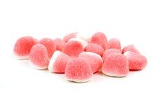 Doces doces do cor-de-rosa e os brancos Fotografia de Stock Royalty Free