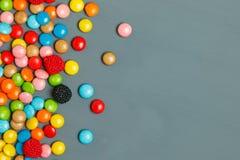 Doces doces dos bombons Fotografia de Stock