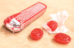 Doces doces vermelhos Foto de Stock