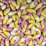 Doces dos cones de gelado Foto de Stock