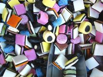 Doces e doces Fotografia de Stock Royalty Free