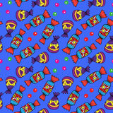 Doces e feijões de geleia coloridos Fotos de Stock Royalty Free