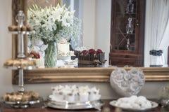 Doces e pastelaria Imagem de Stock Royalty Free