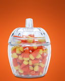 Doces em um frasco de vidro Fotografia de Stock