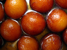 Doces-Gulab indianos Jamun foto de stock royalty free