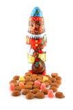 Doces holandeses típicos para Sinterklaas Fotos de Stock
