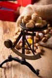 Doces holandeses típicos para Sinterklaas Fotografia de Stock