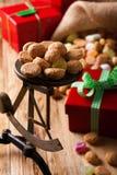 Doces holandeses típicos para Sinterklaas Foto de Stock