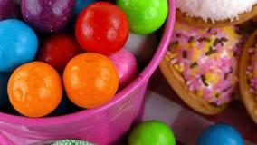 Doces Jelly Lolly doce e Sugar Dessert delicioso fotografia de stock royalty free