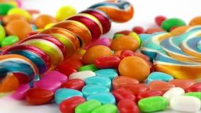 Doces Jelly Lolly doce e Sugar Dessert delicioso fotos de stock