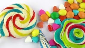 Doces Jelly Lolly doce e Sugar Dessert delicioso imagens de stock