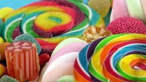 Doces Jelly Lolly doce e Sugar Dessert delicioso imagens de stock royalty free