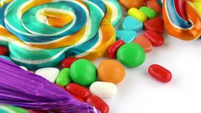 Doces Jelly Lolly doce e Sugar Dessert delicioso fotos de stock royalty free