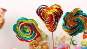 Doces Jelly Lolly doce e Sugar Dessert delicioso foto de stock
