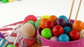 Doces Jelly Lolly doce e Sugar Dessert delicioso foto de stock royalty free