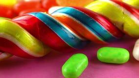 Doces Jelly Lolly doce e Sugar Dessert delicioso imagem de stock