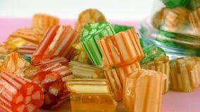 Doces Jelly Lolly doce e Sugar Dessert delicioso fotografia de stock