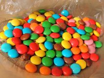 doces Multi-coloridos Fotografia de Stock