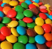 doces Multi-coloridos Fotos de Stock
