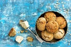 Doces orientais tradicionais das cookies de Halva Imagens de Stock Royalty Free