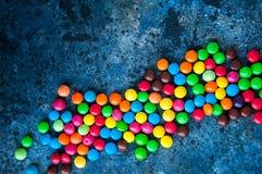 Doces redondos coloridos Imagem de Stock Royalty Free