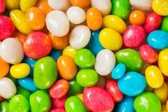 Doces redondos no esmalte colorido Fotos de Stock