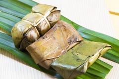Doces tailandeses da banana Imagem de Stock Royalty Free