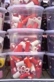 Doces vermelhos do alcaçuz Foto de Stock